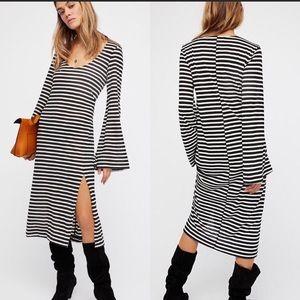 Free People La Jolla Midi Dress